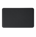 "Wellness Mats Anti-Fatigue Floor Mat Moire Black - 36""L x 24""W"