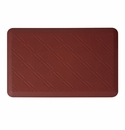 "Wellness Mats Anti-Fatigue Floor Mat Moire Burgundy - 36""L x 24""W"