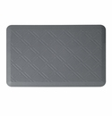 "Wellness Mats Anti-Fatigue Floor Mat Moire Grey - 36""L x 24""W"