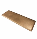"Wellness Mats Anti-Fatigue Floor Mat Smooth Granite Copper - 72""L x 24""W"