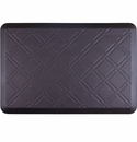 WellnessMats 3x2 Estates Collection Coastal Series Midnight Blue Moire