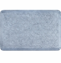 WellnessMats 3x2 Estates Collection Coastal Series Sea Mist Trellis