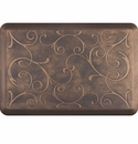 WellnessMats 3x2 Estates Collection Essential Series Antique Gold Bella