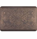 WellnessMats 3x2 Estates Collection Essential Series Antique Gold Entwine