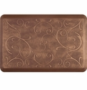 WellnessMats 3x2 Estates Collection Essential Series Burnished Copper Bella