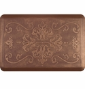 WellnessMats 3x2 Estates Collection Essential Series Burnished Copper Entwine