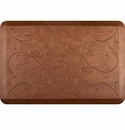 WellnessMats 3x2 Estates Collection Essential Series Copper Leaf Bella