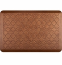 WellnessMats 3x2 Estates Collection Essential Series Copper Leaf Trellis