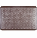 WellnessMats 3x2 Estates Collection Essential Series Garnet Trellis