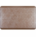 WellnessMats 3x2 Estates Collection Essential Series Sandstone Trellis