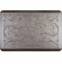 WellnessMats 3x2 Estates Collection Essential Series Silver Leaf Bella