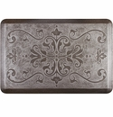 WellnessMats 3x2 Estates Collection Essential Series Silver Leaf Entwine