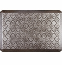 WellnessMats 3x2 Estates Collection Essential Series Silver Leaf Trellis