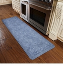 WellnessMats 6x2 Estates Collection Coastal Series Beach Glass Entwine
