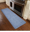WellnessMats 6x2 Estates Collection Coastal Series Beach Glass Moire