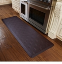 WellnessMats 6x2 Estates Collection Coastal Series Coconut Moire
