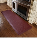 WellnessMats 6x2 Estates Collection Coastal Series Coral Moire