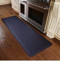 WellnessMats 6x2 Estates Collection Coastal Series Midnight Blue Moire