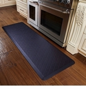 WellnessMats 6x2 Estates Collection Coastal Series Midnight Blue Trellis