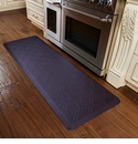 WellnessMats 6x2 Estates Collection Coastal Series Navy Pier Moire