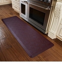WellnessMats 6x2 Estates Collection Coastal Series Palm Wood Moire