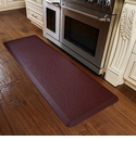 WellnessMats 6x2 Estates Collection Coastal Series Red Sea Entwine