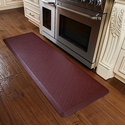 WellnessMats 6x2 Estates Collection Coastal Series Red Sea Trellis
