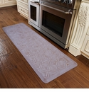 WellnessMats 6x2 Estates Collection Coastal Series Sand Dollar Moire