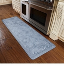 WellnessMats 6x2 Estates Collection Coastal Series Sea Mist Bella