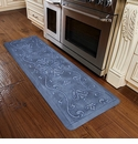 WellnessMats 6x2 Estates Collection Coastal Series Sea Mist Entwine