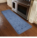 WellnessMats 6x2 Estates Collection Coastal Series Sea Mist Moire