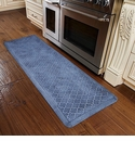 WellnessMats 6x2 Estates Collection Coastal Series Sea Mist Trellis
