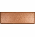 WellnessMats 6x2 Estates Collection Essential Series Copper Leaf Entwine
