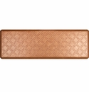 WellnessMats 6x2 Estates Collection Essential Series Copper Leaf Moire