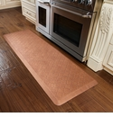 WellnessMats 6x2 Estates Collection Essential Series Copper Leaf Trellis