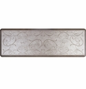 WellnessMats 6x2 Estates Collection Essential Series Silver Leaf Bella