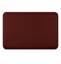 WellnessMats 72 in. Linen Burgundy