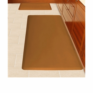 Wellnessmats Anti Fatigue Kitchen Floor Mat Brown 6x3 258