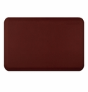 Wellnessmats Anti-Fatigue Kitchen Floor Mat-Burgundy-3x2