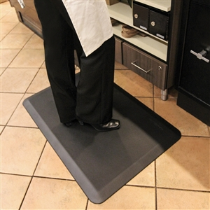 Wellnessmats Anti Fatigue Kitchen Floor Mat Grey 3x2