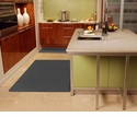 Wellnessmats Anti-Fatigue Kitchen Floor Mat-Grey-5x4