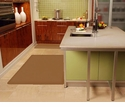 Wellnessmats Anti-Fatigue Kitchen Floor Mat-Tan-5x4