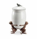 Whimsical Monkey Canister by SPI Home