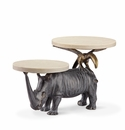 Whimsical Rhino Buffet Stand by SPI Home