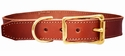 White Wing Leather Dog Collar Small (Dachsund)