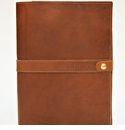 """White Wing Leather Notebook Portfolio (with """"Rite in the Rain"""" pad & pen)"""