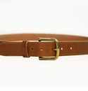 White Wing Man's Leather Belt Large