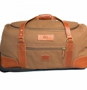 White Wing Rolling Carry On Duffle Bag