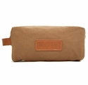 White Wing Shaving Kit Bag Tan