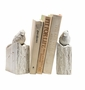 Whitewashed Bird Bookends by SPI Home